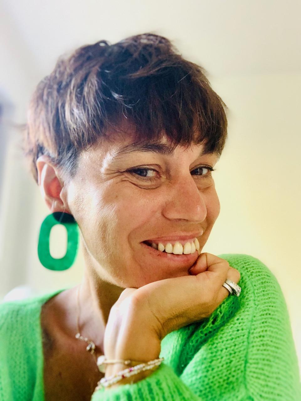 Portrait de femme : Cécile