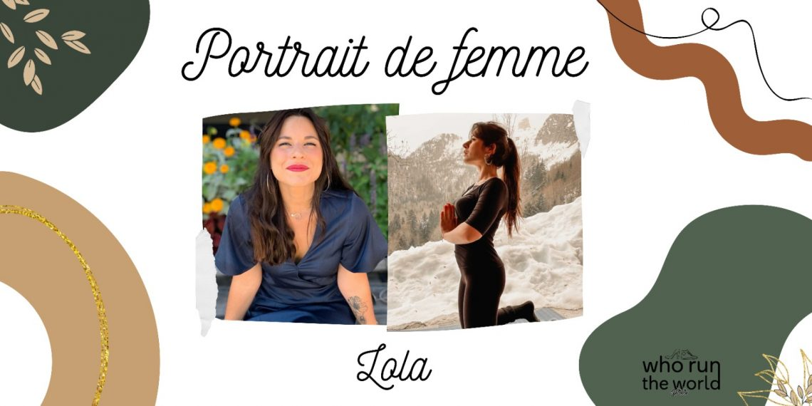 Portrait de femme : Lola