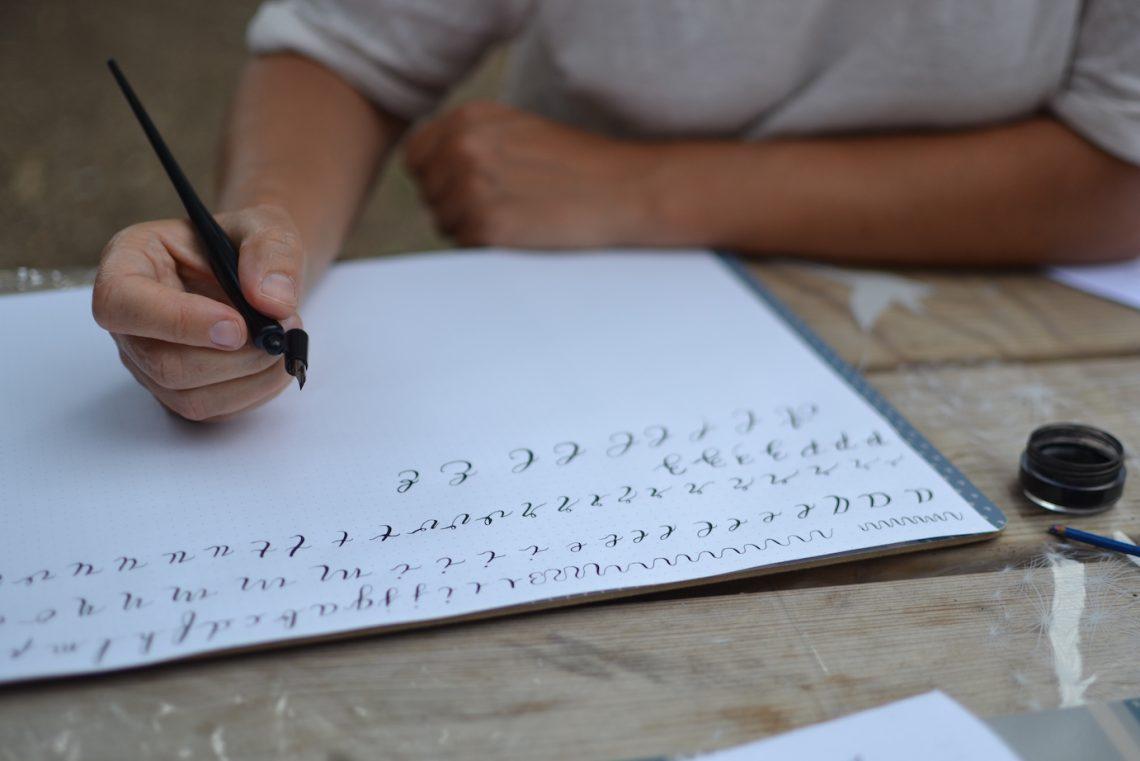 Atelier d'Initiation à la Calligraphie Moderne